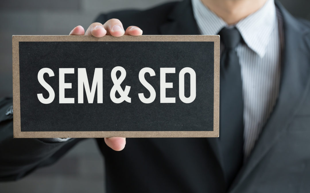 difference between SEM and SEO